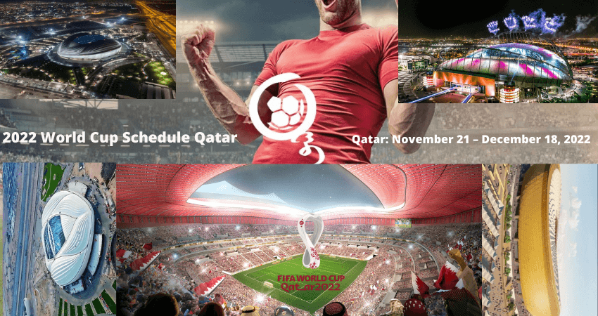 2022 World Cup Schedule Qatar